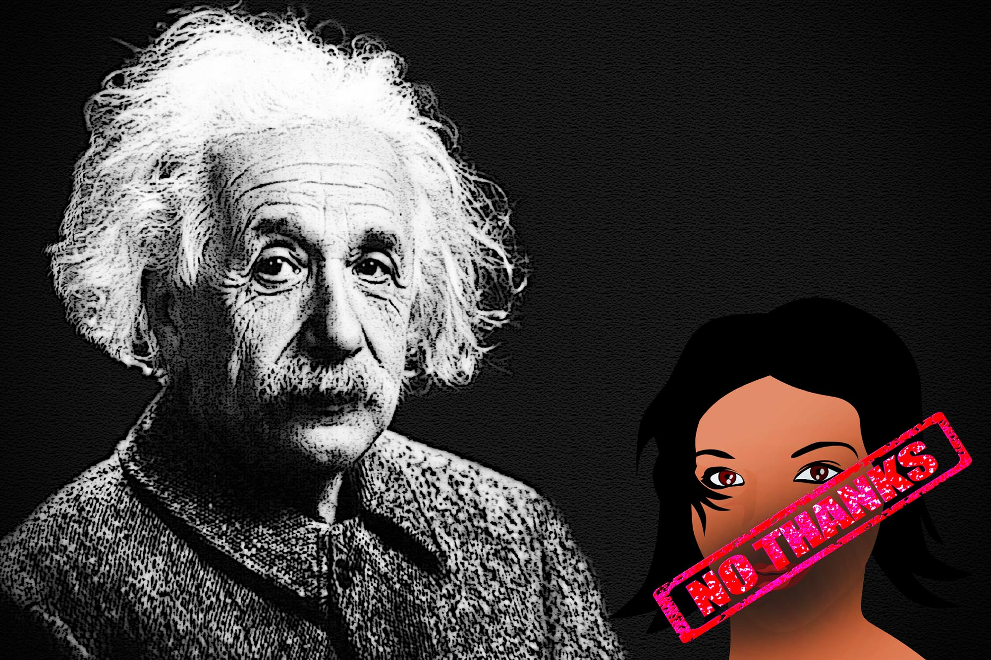 Why Einstein-Looking Male Scientists Are Treated Better Than Female Scientists -1122
