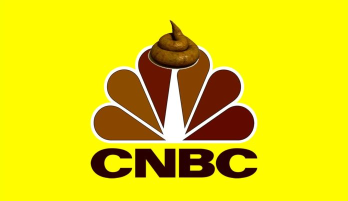 CNBC Sucks; Fake Cryptocurrency News Make Bitcoin Sink…